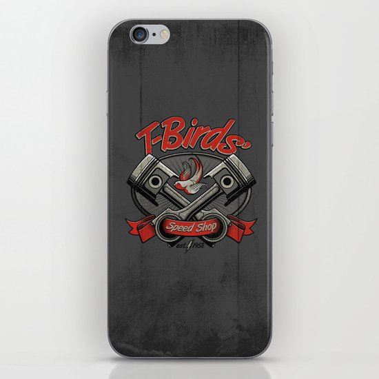 T-Birds' Speed Shop iPhone & iPod Skin