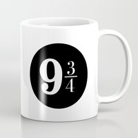 Platform 9 3/4 Mug