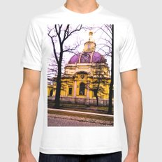 Beautiful mystery. SMALL Mens Fitted Tee White
