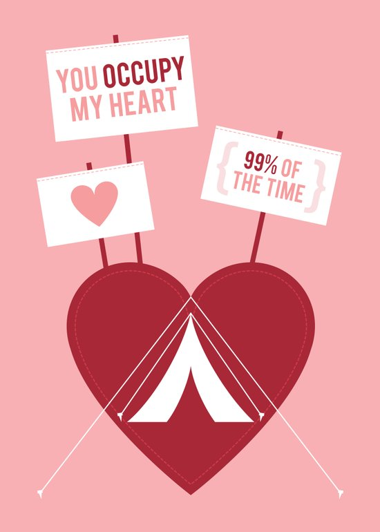 Occupy My Heart Art Print