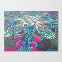 UNION SQ SAND ARTIST Canvas Print