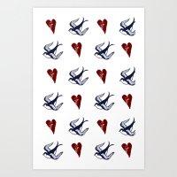Sailor Ink Art Print