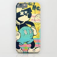 iPhone & iPod Case featuring Tricky Mickey (Painted Version) by Alec Goss