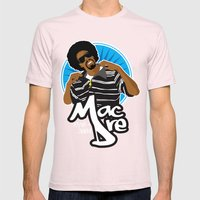 Andre 'Mac Dre' Hicks Mens Fitted Tee Light Pink SMALL
