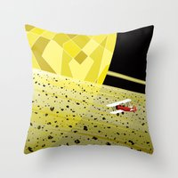Lost In Time And Space Throw Pillow