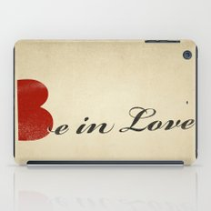 BE IN LOVE iPad Case