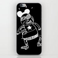 Villain In Black iPhone & iPod Skin