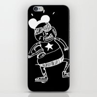 Villain In Black iPhone & iPod Skin