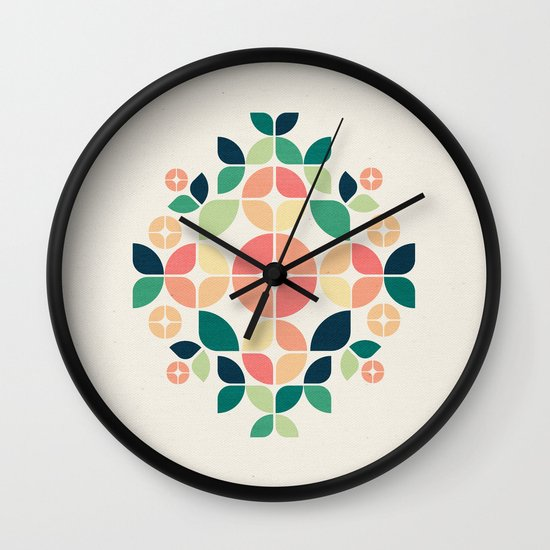 The Bouquet Wall Clock