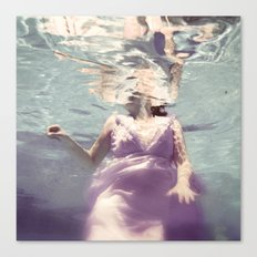 Dive in Violet Canvas Print