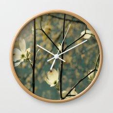 Spring tapestry Wall Clock