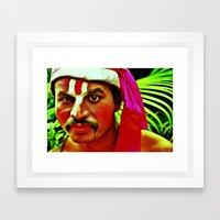 The Ramayana Actor Framed Art Print