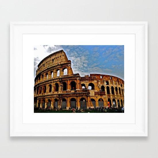 Do as the Roman's do Framed Art Print
