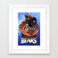 Chicago WereBear Framed Art Print