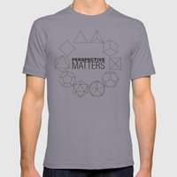 Perspective Matters Mens Fitted Tee Slate SMALL