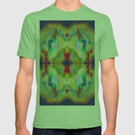 Mandala H Mens Fitted Tee Grass SMALL