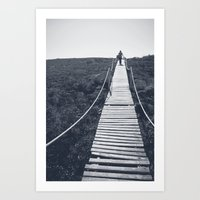 adventure Art Prints featuring Adventure by Light Wanderer