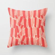Bird Tails Throw Pillow