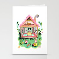 Rebecca Rabbit, Her Hous… Stationery Cards
