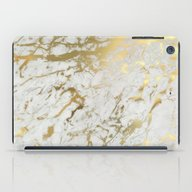 Gold Marble iPad Case
