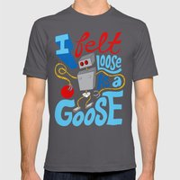 Loose As A Goose Mens Fitted Tee Asphalt SMALL