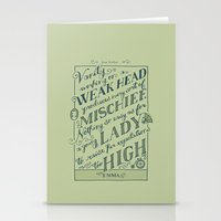 Jane Austen Covers: Emma Stationery Cards