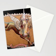Kermit the Silver Unicorn Stationery Cards