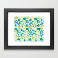 Fresh Market Framed Art Print
