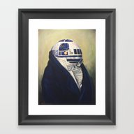 Duke R2-D2 Framed Art Print