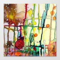 the mama (bright) Canvas Print