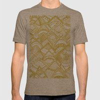 Golden Doodle mountains Mens Fitted Tee Tri-Coffee SMALL