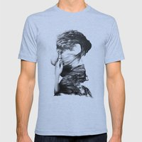 The Sea and the Rhythm // Illustration Mens Fitted Tee Athletic Blue SMALL