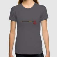 Assassin's Creed 3 Womens Fitted Tee Asphalt SMALL