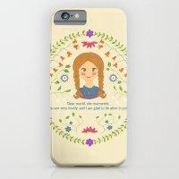 iPhone & iPod Case featuring Dear World by Krystal Nicole