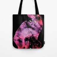 Celestial Cat - The Brit… Tote Bag