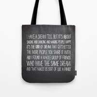 I Have A Dream Too Tote Bag