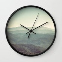 Mountain View Wall Clock