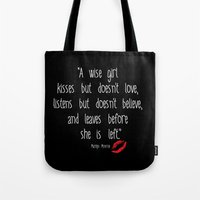 Esperantos Quotes #1 (Marilyn) Tote Bag