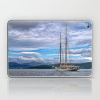 Schooner on the River Clyde Laptop & iPad Skin