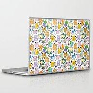 Cute Pokémon Doodle  Laptop & iPad Skin