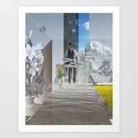 Atmosphere 24 · Whitewa… Art Print