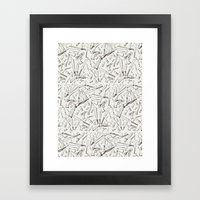Apocalyptic Weapons  Framed Art Print