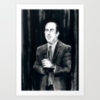 DARK COMEDIANS: Jerry Se… Art Print