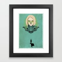 Teya Framed Art Print