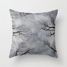 New Moon Rising Throw Pillow