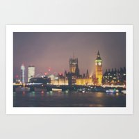 Down By The Thames ...  Art Print