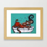 The Dream Of The Fisherm… Framed Art Print
