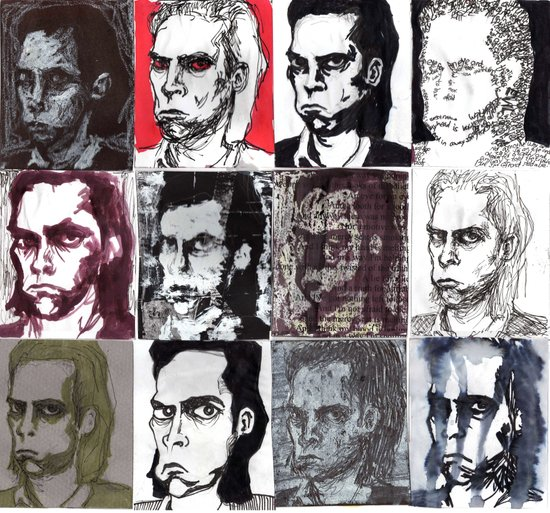 Nick Cave Galore Art Print