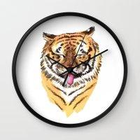 El Tigre Wall Clock