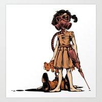 Dead Sucker Art Print